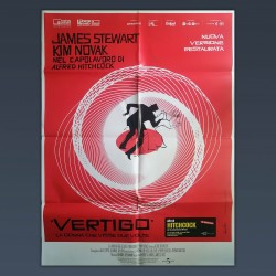 Manifesto 2F Vertigo - Alfred Hitchcock 2019