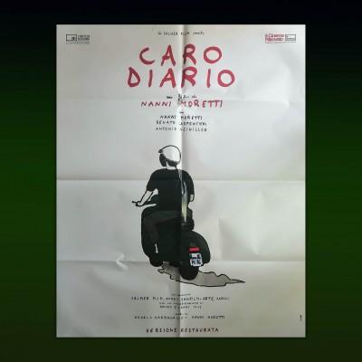 Manifesto Orginale 2F Caro Diario Nanni Moretti 2019 100x140 CM