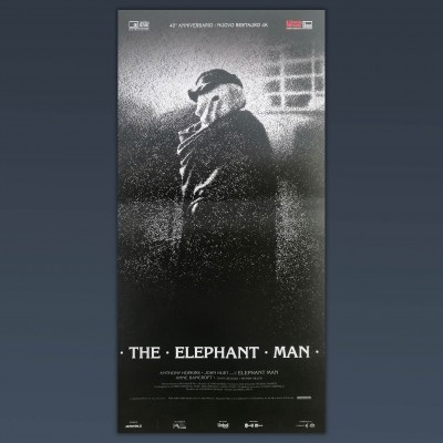 Locandina Originale The Elephant Man 33x70 CM