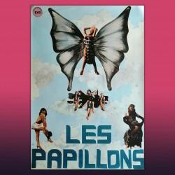 Poster Vintage Originale Les Papillons - Anni 80