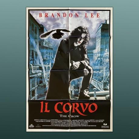 Poster Manifesto Originale 2F Il Corvo The Crow Brandon Lee 100x140 CM