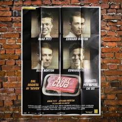 Manifesto Poster 4F Fight Club 1999 Brad Pitt Edward Norton 140X200 CM