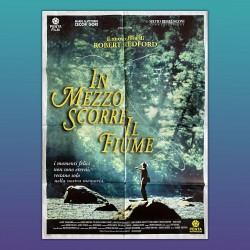 Manifesto Poster 2F In Mezzo Scorre Il Fiume Robert Redford 100X140 CM