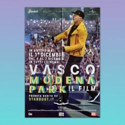 Manifesto Poster 2F Vasco Rossi Modena Park 2017 100X140 CM