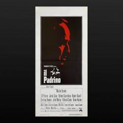 Locandina Originale Il Padrino The Godfather - 33x70 CM - Marlon Brando