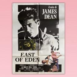 Poster Manifesto 2F La Valle Dell'Eden East Of Eden James Dean