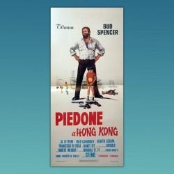 Poster Locandina Originale Piedone A Hong Kong Bud Spencer 1975
