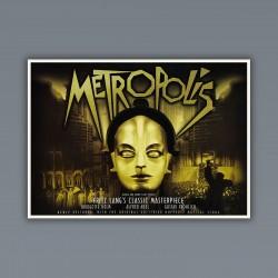 Poster Locandina Metropolis 70X50 CM Fritz Lang