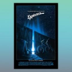 Locandina Poster Explorers  - Joe Dante, Ethan Hawke, River Phoenix