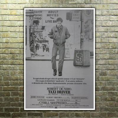 Movie Posters Taxi Driver, Rober De Niro - 70x100 CM