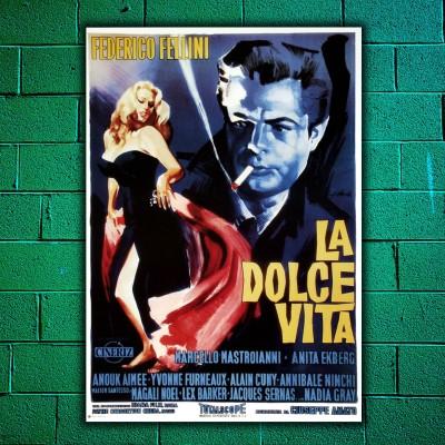 Movie Posters La Dolce Vita - 70x100 CM