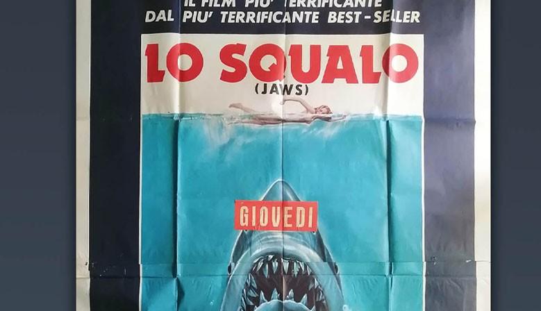 Manifesto Lo Squalo - Jaws